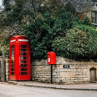 Telephone booth in Stanton, The Cotswolds by JJFarquitectos