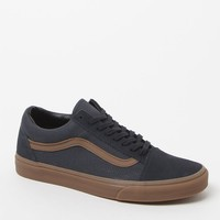 Vans Gum Sidestripe Old Skool Shoes - Mens Shoes - Navy/Gum