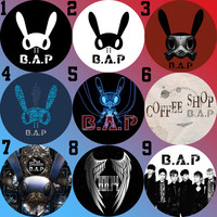 BAP B.A.P Power, Coffee Shop, Badman, First Sensibility Bottle Cap Necklace KPOP (9 Styles)