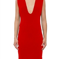 Blaque Label Plunging Neck Sleeveless Dress | ShopAmbience