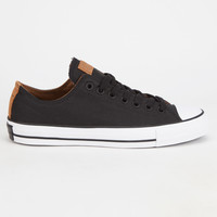 Converse Cons Ctas Pro Mens Shoes Black/Khaki  In Sizes