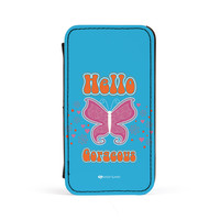 Sassy - Hello Gorgeous #10433 PU Leather Case for iPhone 4/4s by Sassy Slang