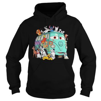 Disney dogs stitch and Fillmore shirt Hoodie