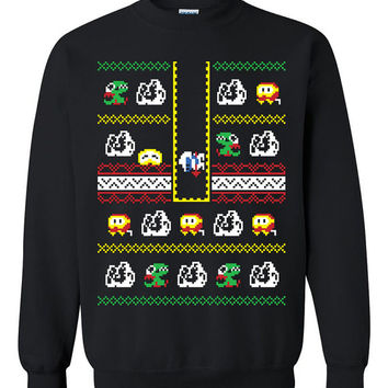 video game Ugly Christmas Sweater sweatshirt unisex adults size S-2XL