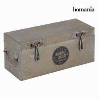 Silver metal box - Art & Metal Collection by Homania