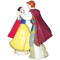 Snow White and Prince Dance Magnetic Salt & Pepper Shakers