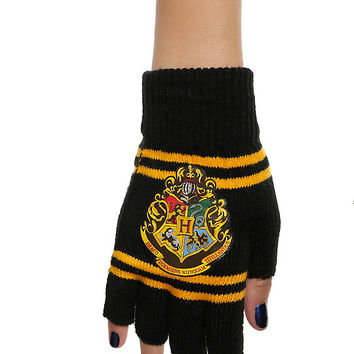 Harry Potter Hogwarts Fingerless Gloves