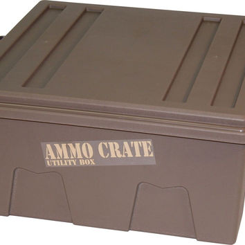 "MTM ACR8-72 Ammo Crate Utility Box with 7.25"" Deep Large Dark Earth"