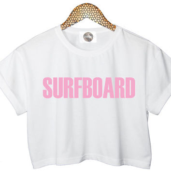 BEYONCE Surfboard CROP TOP t shirt Yonce New Album Flawless Womens Girls all size love in drunk music tee swag style tumblr style miley new*