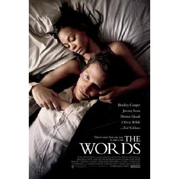 Words Movie poster Metal Sign Wall Art 8in x 12in