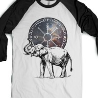 White/Black T-Shirt | Cool Animal Shirts