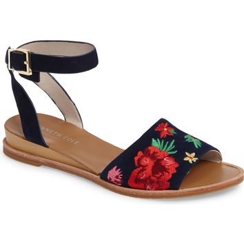 Kenneth Cole New York Jory Embroidered Sandal (Women) | Nordstrom
