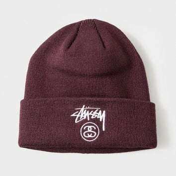 Perfect Stussy Women Men Embroidery Winter Beanies Knit Hat Cap
