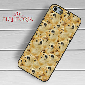 Shibe Doge pattern-1naa for iPhone 6S case, iPhone 5s case, iPhone 6 case, iPhone 4S, Samsung S6 Edge
