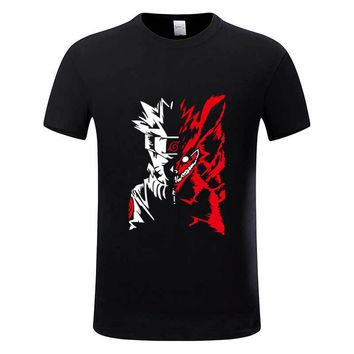 New Fashion Naruto akatsuki Logo Pattern T Shirt Itachi Uchiha Anime T-shirts Tshirt Plus Size Cosplay Costume Top Tees,GMT002