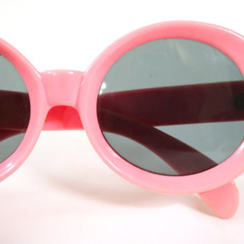 Vintage 1960s Sunglasses / 60s Cotton Candy by RetroActiveNOLA