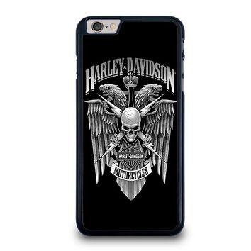 HARLEY DAVIDSON SKULL EAGLE iPhone 6 / 6S Plus Case Cover