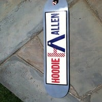 Hoodie Skate Deck **Limited Edition** from The Hoodie Allen Swag Shop