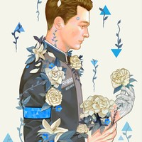 Detroit: Become Human A5 limited art prints (PREORDER) by pelcron