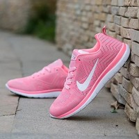 NIKE Trending Fashion Casual Sports Shoes Pink