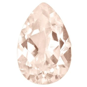 Loose Morganite Gemstone  9x6mm Pear AA Quality