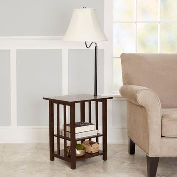 Better Homes and Gardens Magazine Rack Floor Lamp