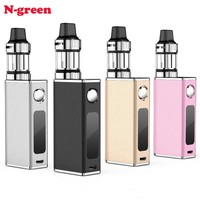 Original P8 Portable Electronic Mod Cigarette Vapor Kit High Tank E Pen Vape Box