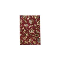 Well Woven Avenue Marcy Floral Red Area Rug