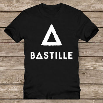 Custom bastille design clothing for T-shirt mens and T-shirt women
