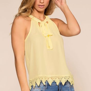 Sweet Company Top - Yellow