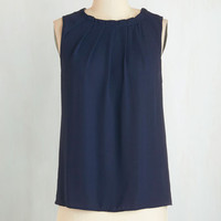 Sleeveless Runway of Life Top by ModCloth