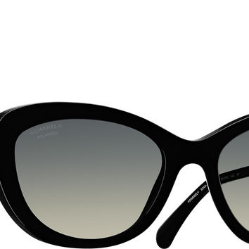 Chanel Sunglasses Purple Cat eye Pearl | Online Boutique