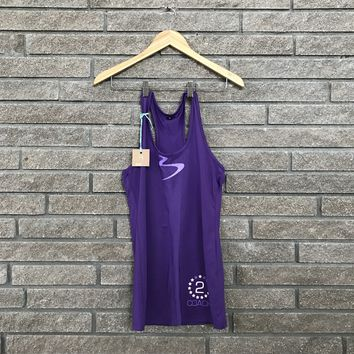 Beachbody Women's Coach Purple Athletic Fitness Tank