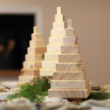Beautiful DIY Christmas Tree Build Your Own Southern Yellow Pine Handmade Kit  Decoration Holiday Decor Wood Craft