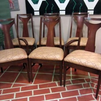 In the Style Of Broyhill Brasilia Dining Chairs