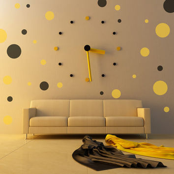 Pokla Dots Removable Wall Vinyl Art, decals stickers
