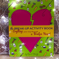 FOREVER 21 The Break-Up Activity Book: Crafting Your Way Through a Broken Heart by Lynn Chang Green/Orange One