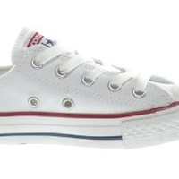 Converse Converse C/T All Star Ox Little Kids Fashion Sneakers White 3Q490-1.5