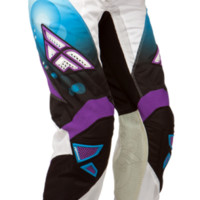 Kinetic Girl's Race Blue/White Pant