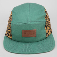 Entree Leopard Washed Canvas 5-Panel Hat