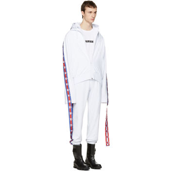 White Champion Edition Hoodie