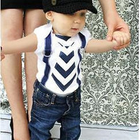 Infant Baby Boy sping summer short sleeve Tops Blouse Jumper+ denim Jeans Pants Suit Outfit Clothes for 0-24M kid boy