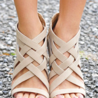 Fenced In Wedges: Sand                    | Hope's