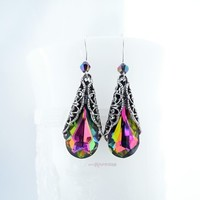 Tropical Wave Swarovski Earrings