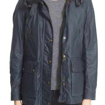 Belstaff Tourmaster 2.0 Hooded Waxed Cotton Jacket | Nordstrom