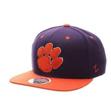Licensed Clemson Tigers Official NCAA Z11 Adjustable Hat Cap by Zephyr 247570 KO_19_1