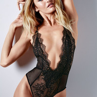 Limited Edition Fishnet & Lace Teddy - Very Sexy - Victoria's Secret