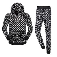 Trendsetter LV X Supreme Women Men Top Sweater Pullover Hoodie Pants Trousers