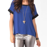 Boxy Two-Tone Top