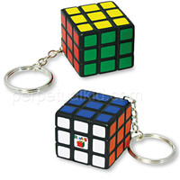 RUBIK'S CUBE STRESS BALL KEY CHAIN